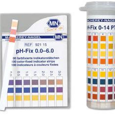 Testovacie prúžky pH