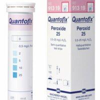 Testovacie prúžky na peroxid vodíka
